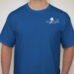 1. Blue Logo Shirt $22